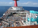 Carnival Conquest sun deck photo
