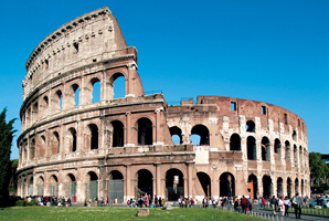 Cruise destination: Rome