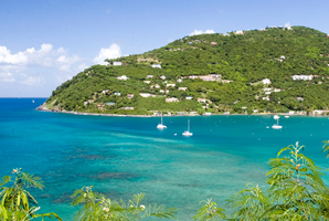 Cruise destination: Tortola